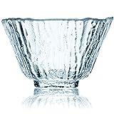 Taza Té Artesanal Crytal Glass - 4 Tazas Ideal Para Cualquier Bebida - Vasos Cristal Pequeños - Vaso De Café Grueso - 50 ml