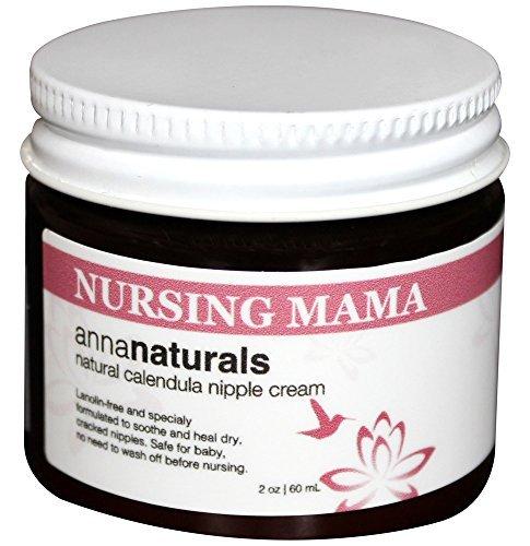 Anna Naturals Nursing Mama Nipple Cream Organic Balm
