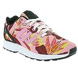 adidas ZX Flux B34520 - Zapatillas deportivas para mujer (talla 36), color rosa claro y negro