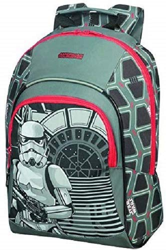 American Tourister New Wonder - Mochila Infantil S+, 35 cm, 11.1 L, Multicolor (Star Wars Storm Trooper)