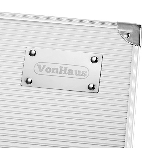 VonHaus 18-piece BBQ Utensil Set - Stainless Steel Grill Utensil Set in Aluminium Case