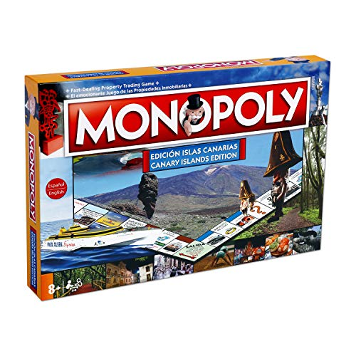 Winning Moves Monopoly Islas Canarias (63379), multicolor, ninguna (ELEVEN FORCE