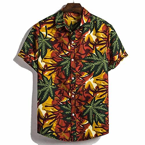 SSBZYES Camisas Para Hombres Camisas De Verano De Manga Corta Camisetas Para Hombres Tops Para Hombres Camisas Florales Camisas Para Hombres De Manga Corta Para Hombres Camisas Informales Para Hombres