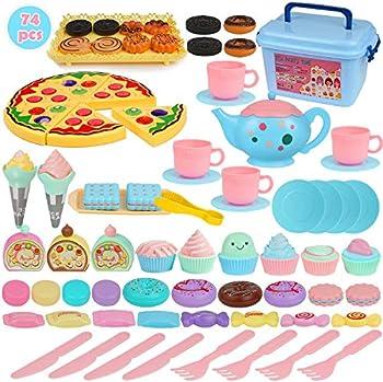 BGdoyz Kids Princess Tea Time Toy Set