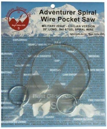 Best Glide ASE Adventurer Saw Pocket Max 49% OFF Spiral Wire Discount is also underway