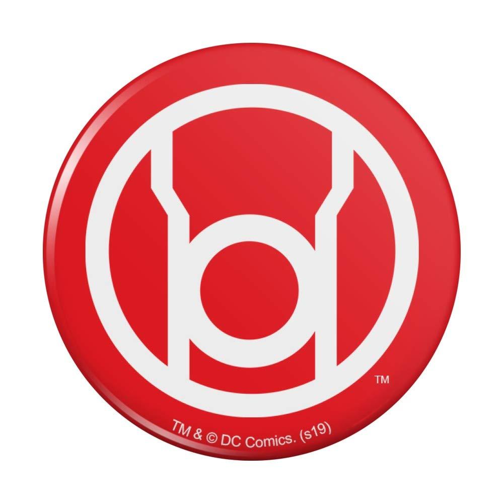 Green Lantern Blackest Night 5 ☆ very popular Red Compact Pur Columbus Mall Logo Pocket