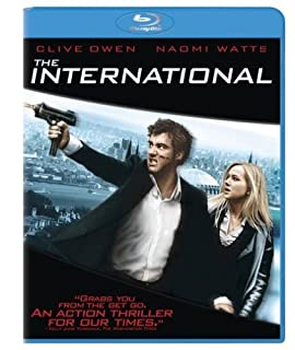 The International [Blu-ray] by Clive Owen