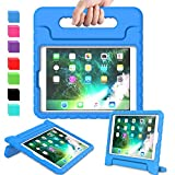 AVAWO Kids Case for iPad 9.7 2017/2018 & iPad Air 2 - Light Weight Shock Proof Convertible Handle Stand Friendly Kids Case for 9.7-inch iPad 5th & 6th Gen, iPad Air 1 & iPad Air 2 - Blue