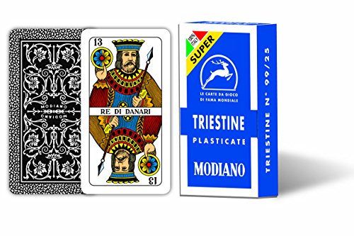 Modiano 300136 – Playing Cards Triestine 99/25 Super