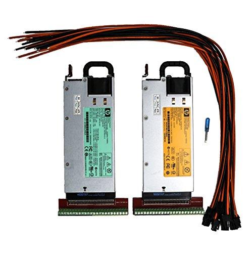 Bitmain Antminer S7 80+ Platinum Rated 94% Efficiency PSU Power Supply Complete Kit 120V-240V