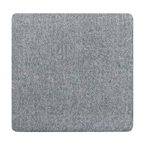 SHANGXIN Almohadillas de fieltro para planchar, almohadillas de planchado portátiles resistentes a altas temperaturas, almohadillas de prensado de lana, pueden permitirte presionar la ropa fácilmente.