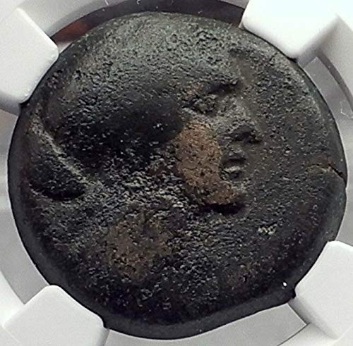 1000 GR CLEOPATRA VII JULIUS CAESAR & MARK ANTONY Lover E coin F NGC