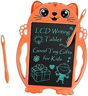 Parigo - Tableta de escritura LCD, juguetes para niños y niñas de 3, 4, 5 y 6 años de edad, para niños y niñas