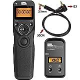 PIXEL TW283E3 Wireless Shutter Remote Release Control for Canon EOS R 700D/T5i 650D/T4i 550D/T2i 500D/T1i 350D/XT 400D/XTi 1000D/XS 450D/XSi 60D 100D and Pentax