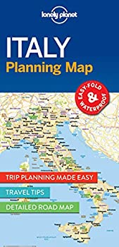 Lonely Planet Italy Planning Map 1  Planning Maps