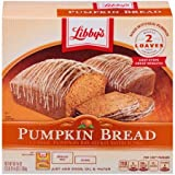 Libby's All Natural 2 Loaves Pumpkin Bread Kit With Icing 56.1oz (6 Packs)