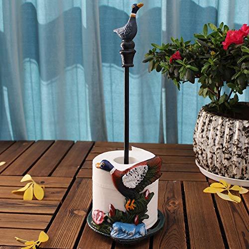 Sungmor resistente in ghisa carta da cucina porta carta igienica, metallo stile vintage, da tavolo...