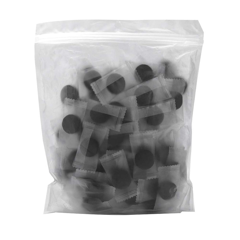 驚いたキュービックかすれた竹炭繊維 100ピース 圧縮フェースマスク 紙DIY スキンケア diy フェイシャルマスク