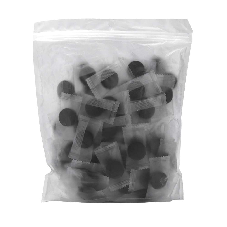 ニコチン合理的好奇心竹炭繊維 100ピース 圧縮フェースマスク 紙DIY スキンケア diy フェイシャルマスク