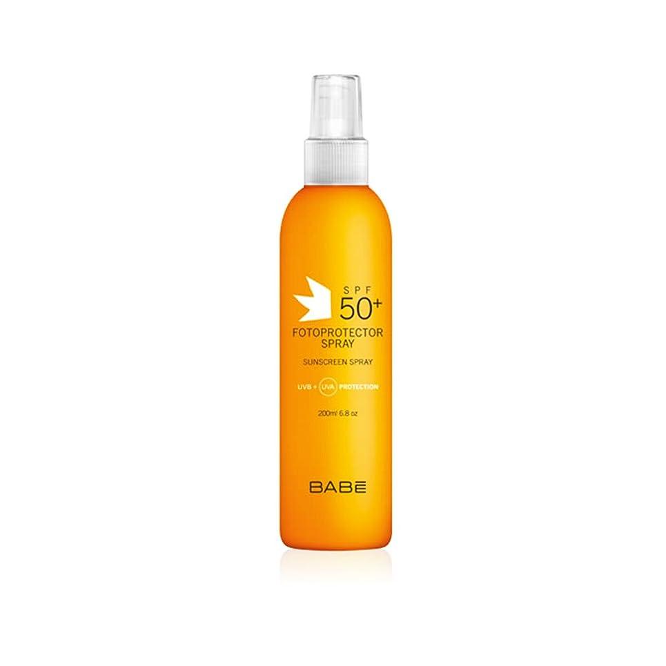 経歴柔らかいドラムBabe Sunscreen Spray Spf50+ 200ml [並行輸入品]