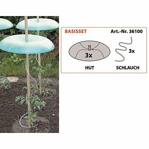 KHW 36100 Gartenhütte Basic Set, grün, 30x49x7 cm