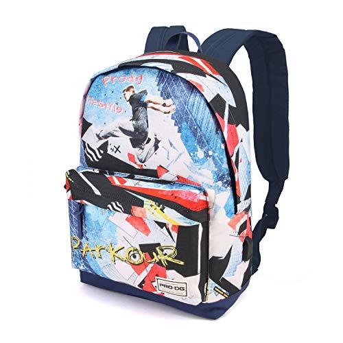 PRODG PRODG Parkour-Sac à DOS Freestyle Rucksack, 42 cm, 21 liters, Mehrfarbig (Multicolour)