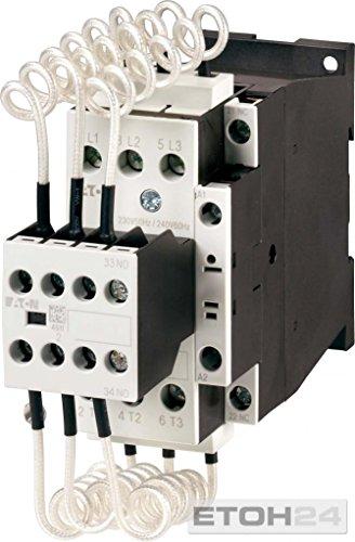 EATON DILK25-11(230V50HZ,240V60HZ) Contactor para condensador, 3P, 25 KVar, 400V