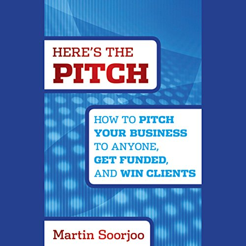 Here's the Pitch audiobook cover art