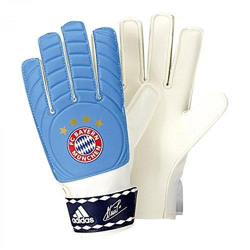 adidas Herren Torwarthandschuhe FC Bayern Control Young Pro, lucky blue s15/dark blue/white, 6, S90160