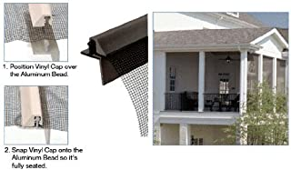 CRL ScreenEze Bronze Patio Screen Frame 96 inch