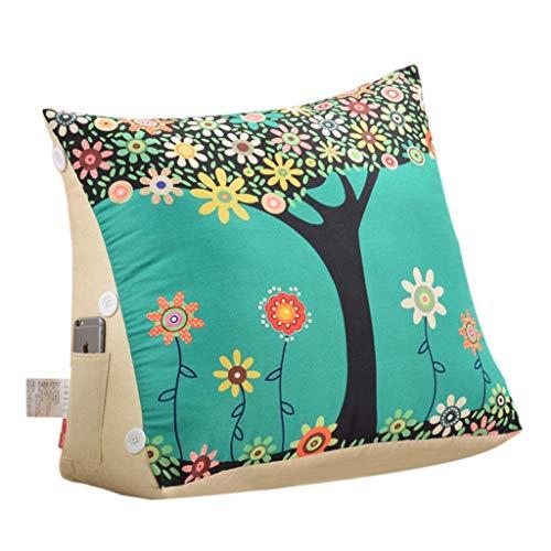 Druckentlastendes Ruhekissen, Unterstützung Keil Couch-Kissen for Erwachsene mit Kopfstütze, Bett Keil Stützkissen Kissen - Rücken-, Bein- und Knie Prop Up - Ideal for das Lesen