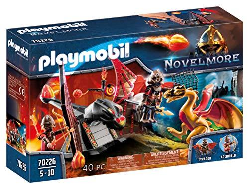 PLAYMOBIL Novelmore 70226 Burnham Raiders Kampftraining des Drachen, für Kinder von 5-10 Jahren