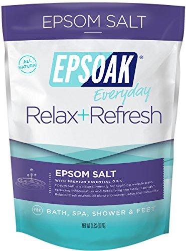 Epsoak Epsom Salt - 2 lb. Relax + Refresh Bath Salts