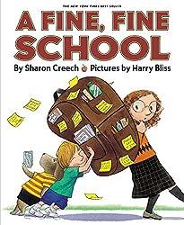 A screenshot of the cover of the book A Fine, Fine School