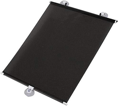 Unishop Ausziehbarer Sonnenschutz mit Saugnäpfen, ausziehbar, 58 x 125 cm