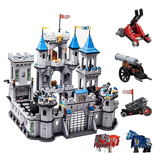 WSKL Lion king Castle Knights bricks DIY Creative Military Building Blocks Toys for Kids