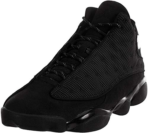 Nike Kinder Air Jordan 4 Retro Sneaker, Schwarz - Schwarz  - Größe: 40.5 EU