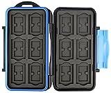Flashwoife Turtle-SD12MSD24 spritzwasserdichte Speicherkarten Kartenbox Schutzbox, patentierte...