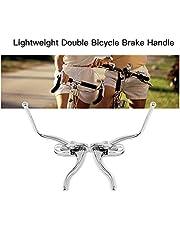 Festnight Lightweight Aluminum Bicycle Double Brake Handle MTB Road Bike Cycling Brake Levers
