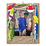Hallmark Keepsake Christmas Ornament 2020, A Reel Keeper Fishing Photo Frame