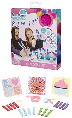 Pom Pom Wow! - Snap & Decorate Set Now $3.61 (Was $11.99)