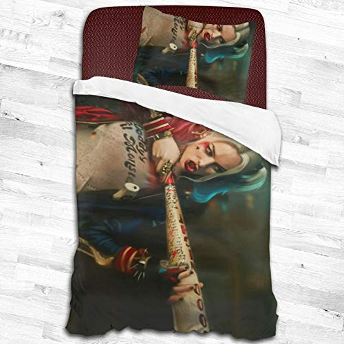 51MZQxSxKmL Harley Quinn Bed Sets