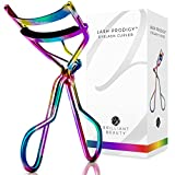 Brilliant Beauty Eyelash Curler - Award Winning - With Satin Bag & Refill Pads - No Pinching, Just Dramatically Curled Eyelashes & Lash Line in Seconds. Get Gorgeous Eye Lashes Now! (Prism)