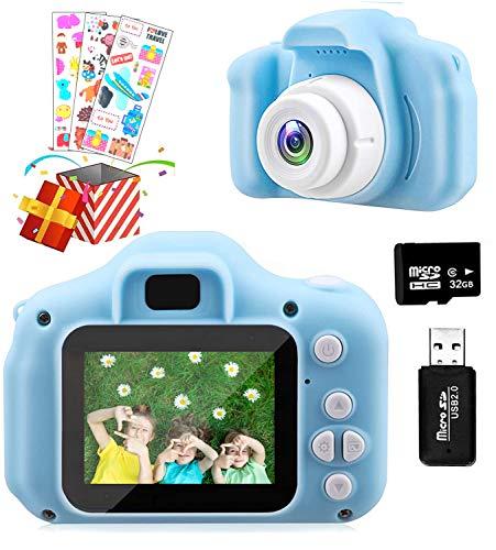 Temont Kids Camera,Kids Digital Camera 2.0 Inch for Children HD 1080P 32GB...