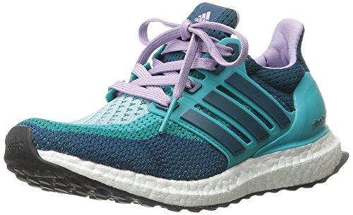 adidas Damen Ultra Boost W, Clear Green Mineral Glow Purple, 40 EU