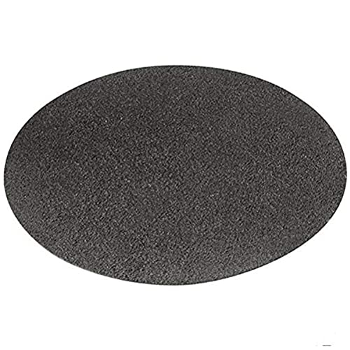 Round Fire Pit Mat - Grill Mat, Gas BBQ Fireproof Mat Heat Resistant Mat, Under Grill Mat Protector, Easy To Clean, for Under Outdoor BBQ Grill, Deck Defender, Grass, Patio, Bonfires