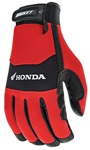 Joe Rocket Honda Racing Crew Touch guanto rosso/nero Mens 2XL