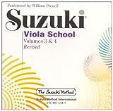 Suzuki Viola School, Vol 3 and 4