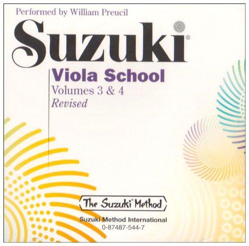 Suzuki Viola School, Vol 3 & 4