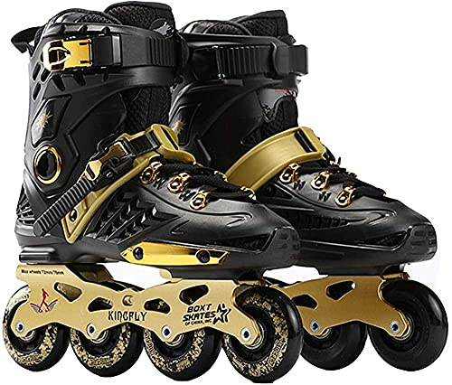 DLXYch Skating Shoes Roller Blades Adult Women Men 36 44 Sports Roller Blades Outdoor Indoor Comfortable Inline Skates ShoesSize42